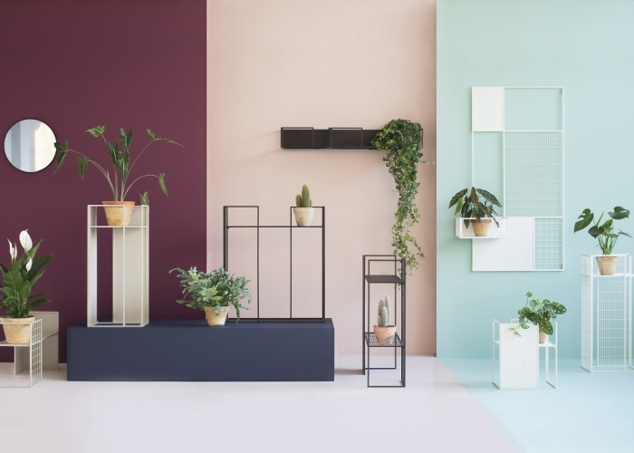 Plant stands and shelves