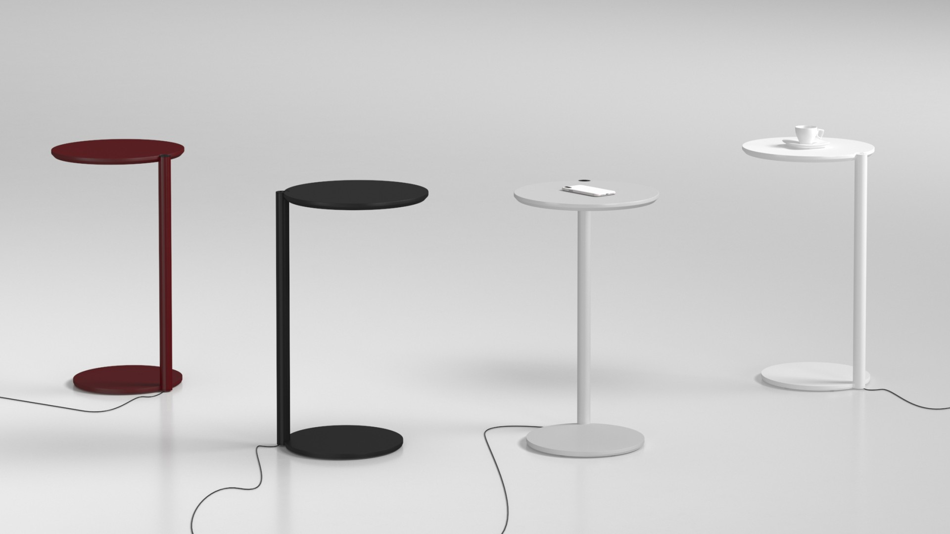 New in our offer! USB powered table - DROPS USB Table