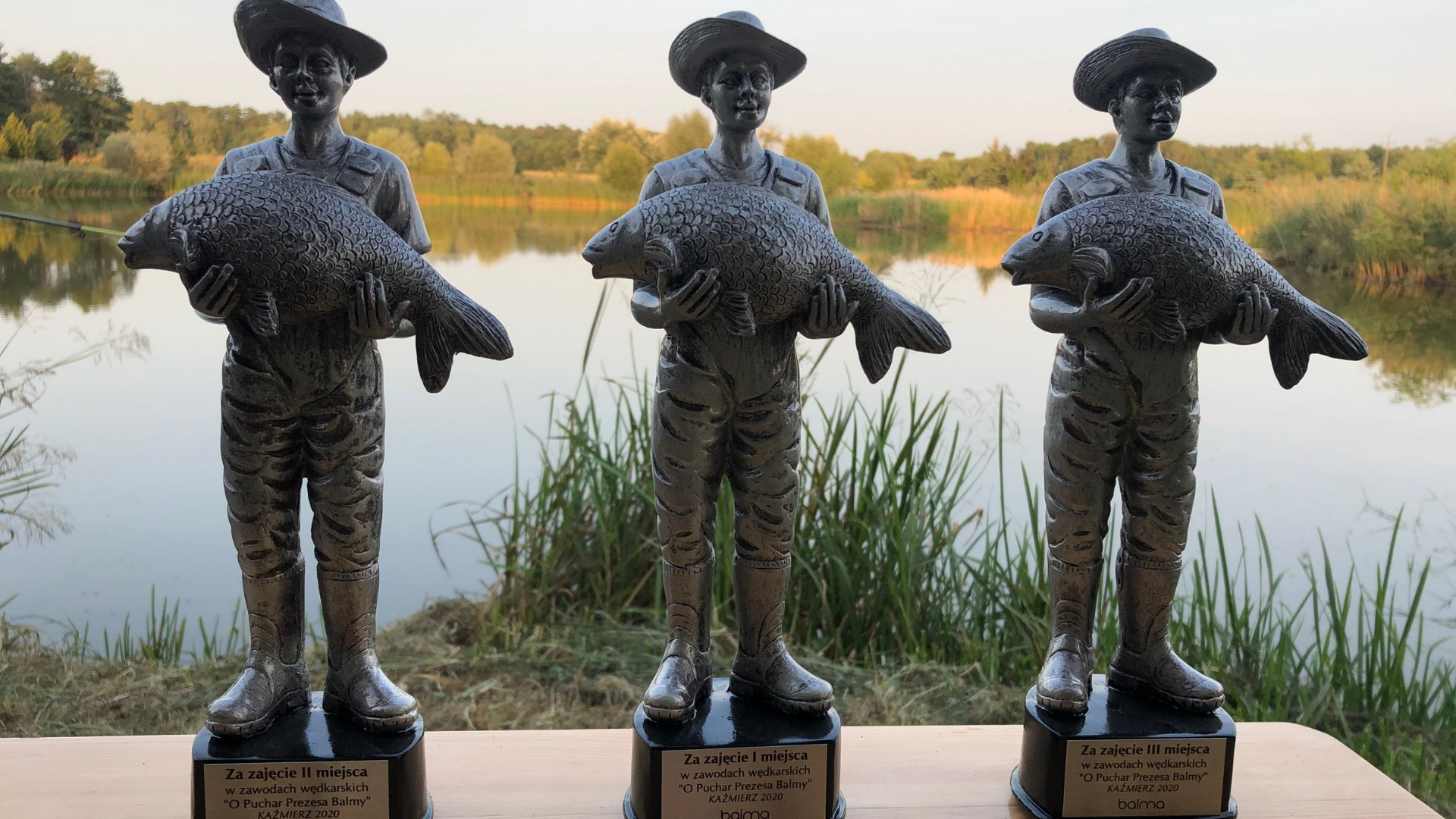 The 5th edition of the annual fishing competition for the Balma President's Cup is behind us!