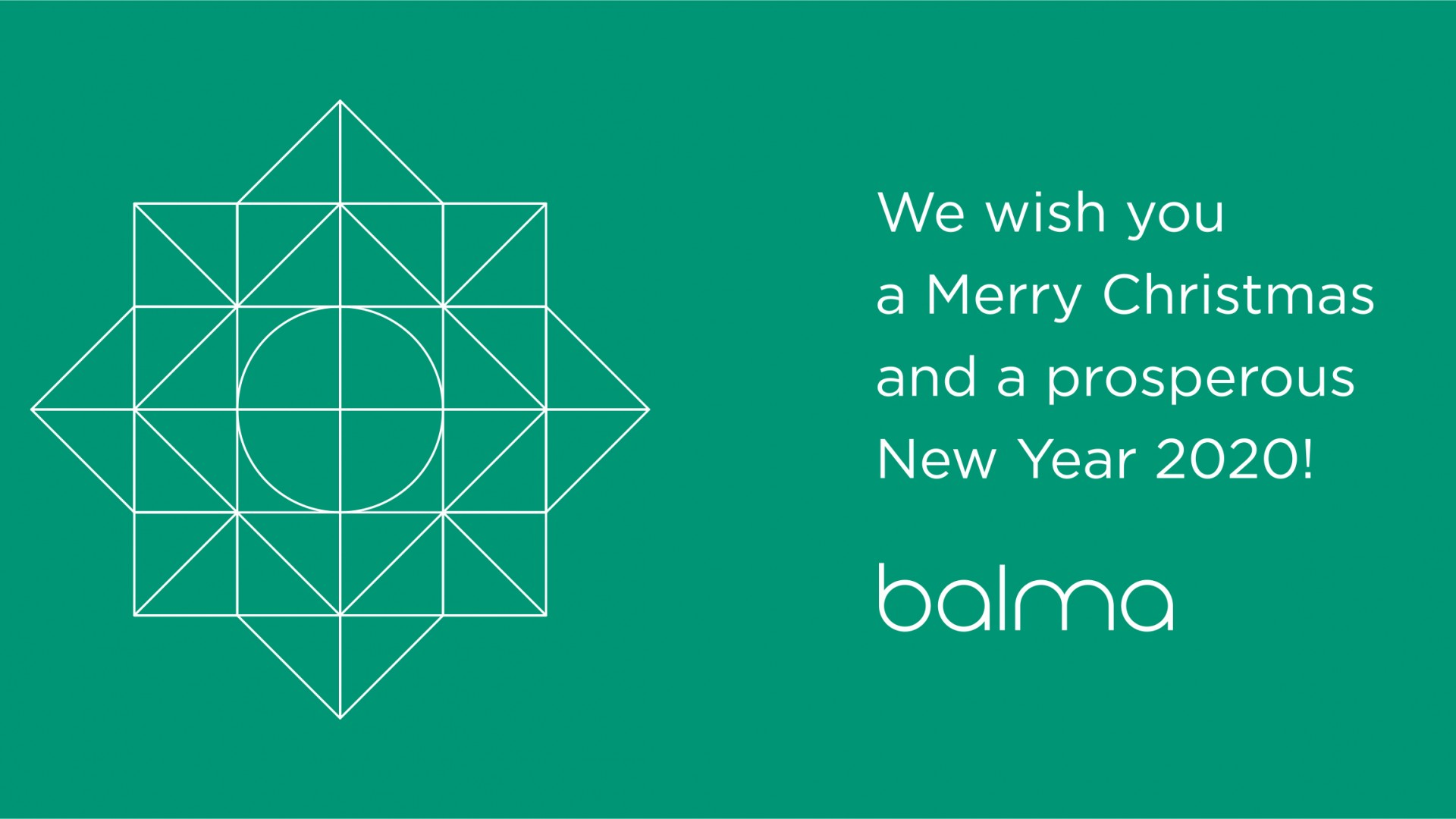 Merry Christmas and a prosperous New Year for 2020!
