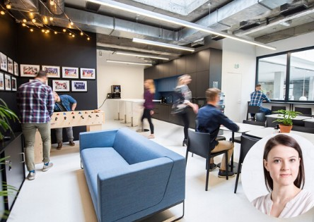 Think pro mag - Why we need our offices - an interview with Daria Jezierska-Geburczyk, a psychologist and an expert in cultural studies